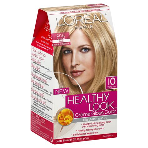 l oreal healthy look creme gloss hair color choose your color ebay l oreal healthy look creme gloss color 8 1 2 1 application hair care hair