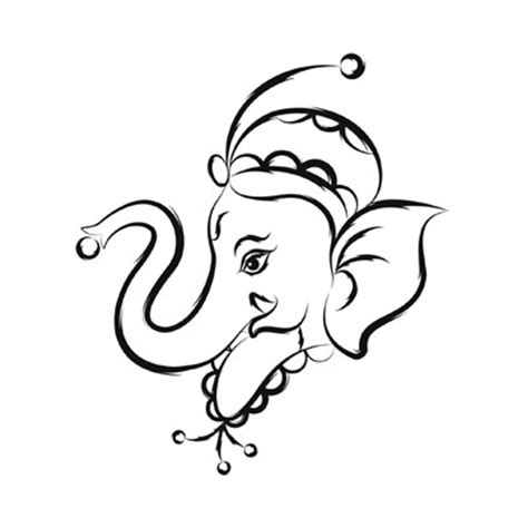 ganesh tattoo template ganesha tattoo template joy studio design gallery best