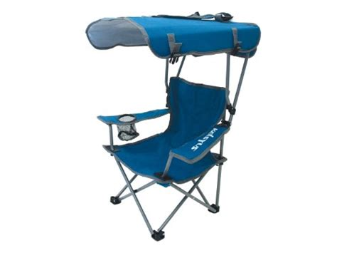 folding chair with shade folding canopy chair cing fishing outdoor sun