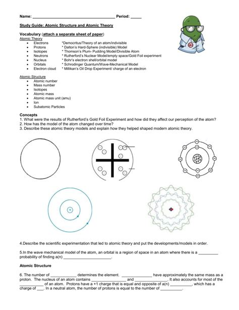 What Is A Protons Charge by Atomic Structure Worksheet What Type Of Charge Does A