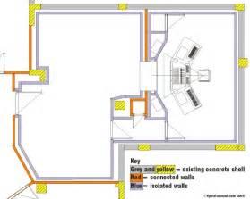 Site Map Floor Plan For Home Recording Studio