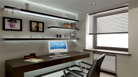simple study room design  long study table home