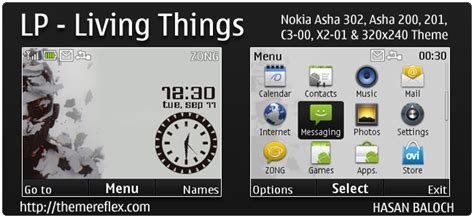 nokia c3 android themes linkin park living things theme for nokia c3 x2 01