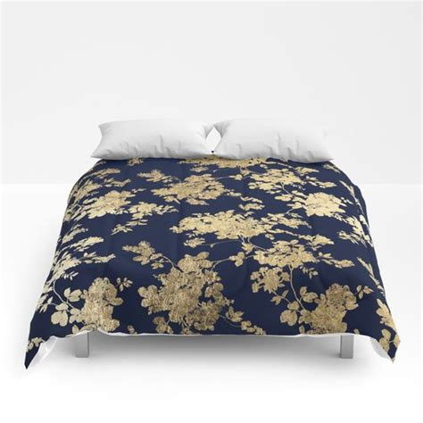 navy and gold bedding 25 best ideas about navy blue comforter on pinterest
