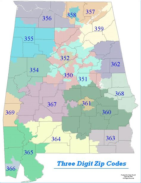 zip code map jefferson county al sle maps