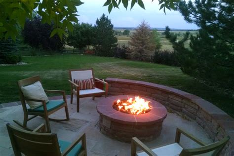 outdoor gas firepits summer nights with outdoor pits gas pits chimineas