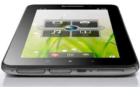 Tablet Lenovo Ideapad A1 lenovo ideapad a1 android tablet now available gadgetsin