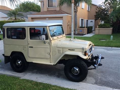 toyota jeep 1980 1980 toyota fj40 bj40 landcruiser diesel jeep for sale