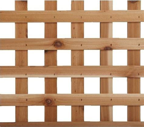 4 x 8 privacy cedar lattice panel contemporary home