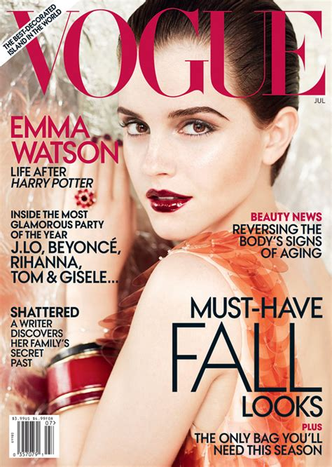watson for us vogue july 2011