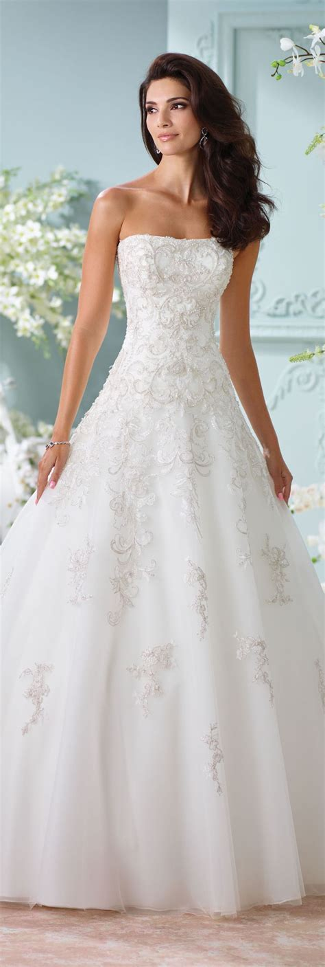 Best 25  Strapless wedding dresses ideas on Pinterest