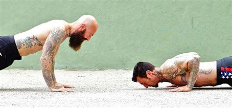 bench press ups strength showdown push up vs bench press
