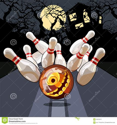 clipart picture bowling on stock vector image 59232817