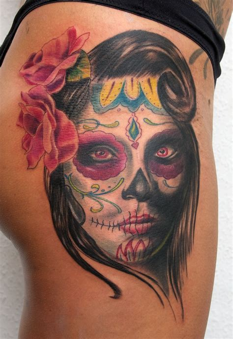 day of dead tattoo mexican tattoos day of the dead lifestyles ideas