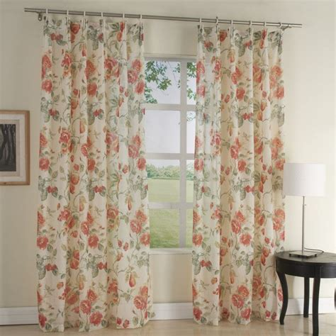 curtains with red flowers 47 best images about sheer curtains on pinterest valance