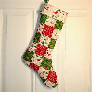 Quilted Christmas Stockings » Home Design 2017