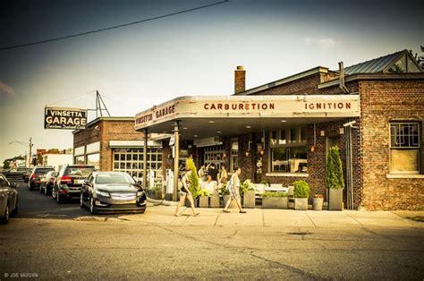 Garage Restaurant Detroit by Vinsetta Garage Design Inspiration Restaurant Back Door