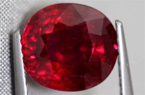 july birthstone ruby gem rock auctions