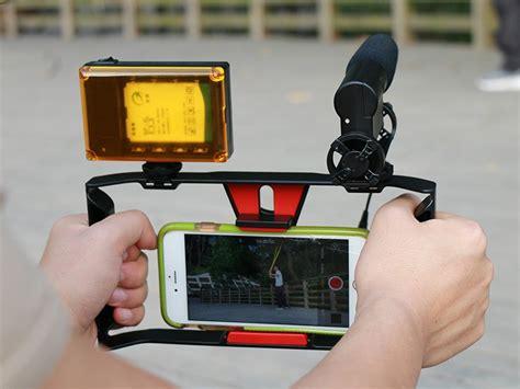 Mangkuk Buah Multifungsi Dengan Smartphone Holder smartphone handheld rig stabilizer 4 7 inch black jakartanotebook