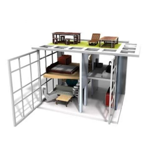 modern miniature dollhouse furniture contemporary dollhouse with ultra modern miniature