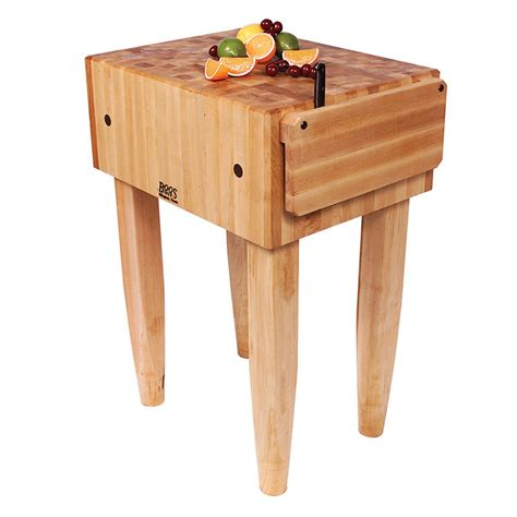 maple butcher block table top boos pca4 10 quot maple top butcher block work table 24