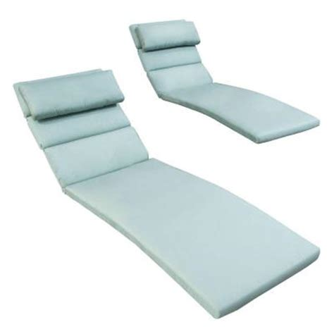 blue chaise lounge cushions rst brands bliss blue outdoor chaise lounge cushions set
