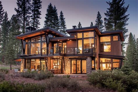 modern mountain homes photos hgtv