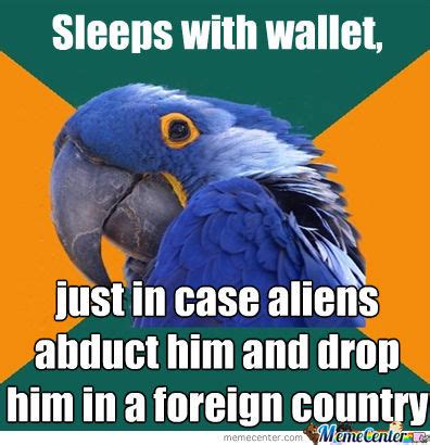 Paranoid Parrot Meme - paranoid parrot memes best collection of funny paranoid
