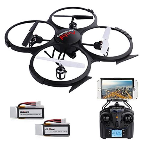 Drone Udi U818a hubsan x4 h107c rc quadcopter 2 4g 4ch rtf drone with hd 2mp and bonus battery