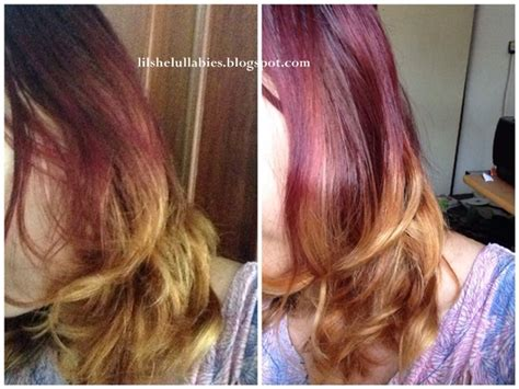 Catokan Yg Bagus diy ombre hair tutorial lilshelullabies by lie