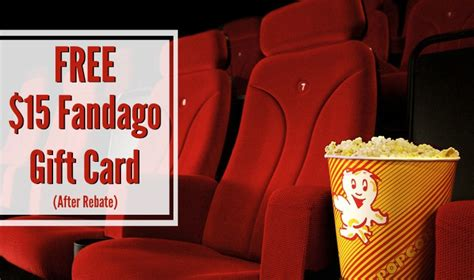Fandango Gift Card Promo - free 15 fandago gift card saving with shellie