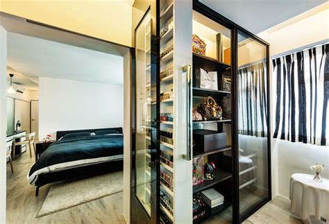 Walk In Wardrobe Hdb by Hdb Bedroom Design With Walk In Wardrobe Home Pleasant