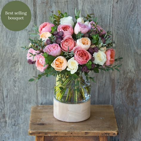 The S Bouquet by Juliet Bouquet The Real Flower Company
