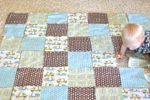 simple baby quilt tutorial monaluna organic fabric
