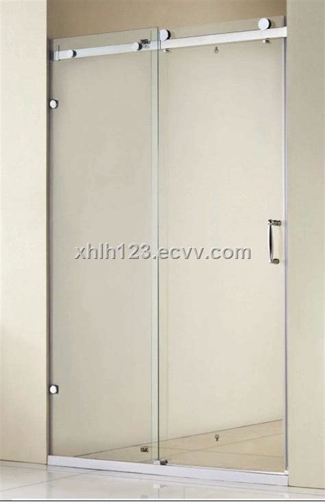 Cheap Shower Screens For Baths 8mm tempered glass shower door stainless steel shower