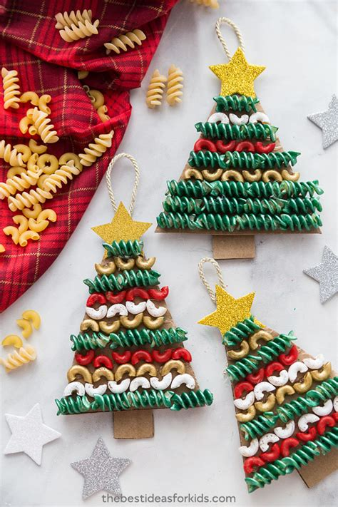 maccaroni christmas decorations tree pasta and macaroni craft the best ideas for