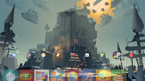 ps4 personal themes tearaway unfolded the gopher show dynamic theme on ps4
