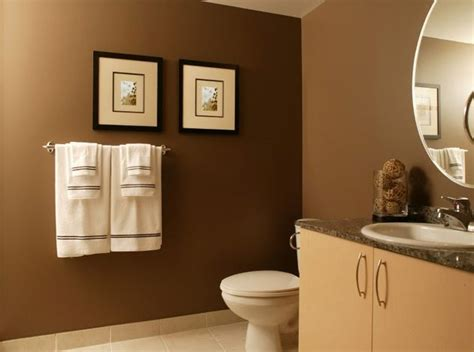 small bathroom wall colors small brown bathroom color ideas small brown bathroom