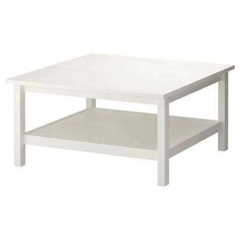 hemnes coffee table white stain white