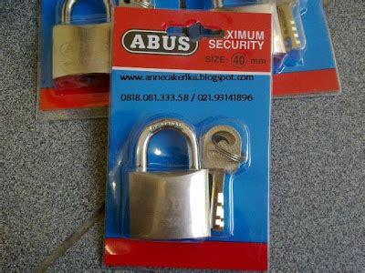 Gembok Merk Abus annecakerika s shop tokobagus majuterus dijual padlock