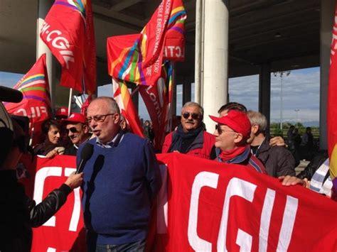 nazionale lavoro pordenone primo maggio a pordenone i leader sindacali per il