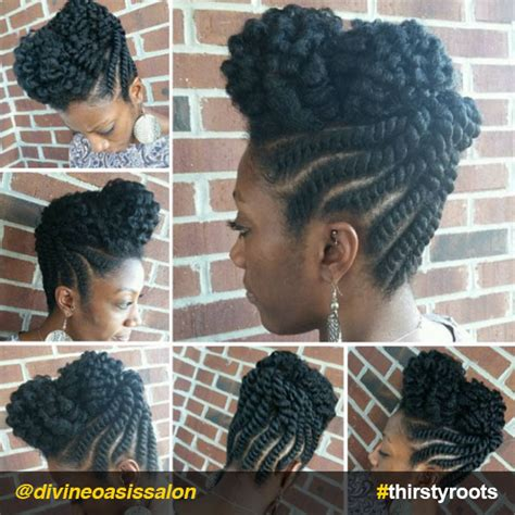 flat twist updos 13 natural hair updo hairstyles you can create