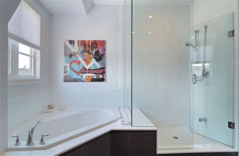 corner bathtub shower combination fresh designs built around a corner bathtub