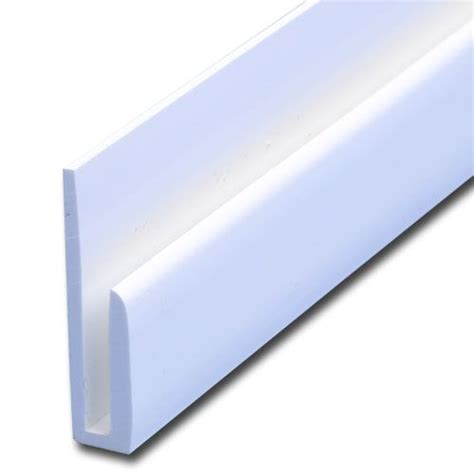 section j j section white capping strip 2440mm roofing superstore 174