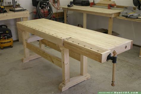 woodworking bench tops wood choice for workbench top