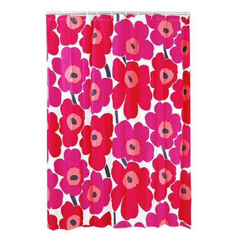 marimekko shower curtains marimekko unikko red cotton shower curtain marimekko