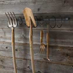 marvelous How To Make A Key Holder For Wall #6: Garden-Tool-Rack-Williams-Sonoma-Gardenista.jpg