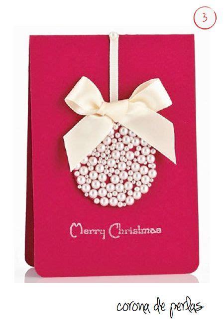 imagenes tarjetas originales 17 mejores ideas sobre tarjetas de navidad hechas a mano