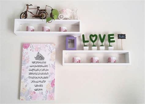 Hiasan Dinding Gantung Susun 2 Unik Islami Ruang Dapur Lets Cooking desain ruang tamu cantik desain rumah mesra