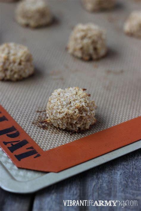 Detox Coconut Macaroons by 21 Day Sugar Detox Friendly Apple Cinnamon Macaroons Made